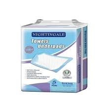 Universal Nightingale Disposable Towel Under Pads pic1